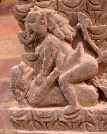 Erotic artwork, Kathmandu Durbar Square